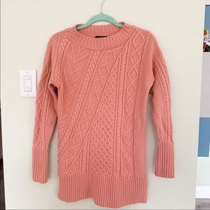 J.Crew Wool Cable Knit Sweater